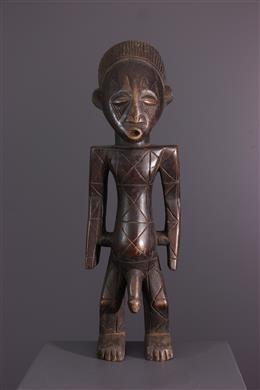 Art africain - Figure masculine Mangbetu Nebeli