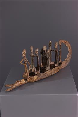 Art africain - Pirogue Dogon