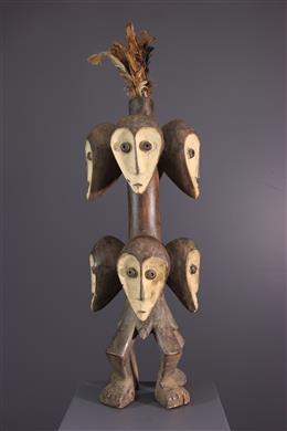 Art africain - Statue Lega Sakimatwematwe