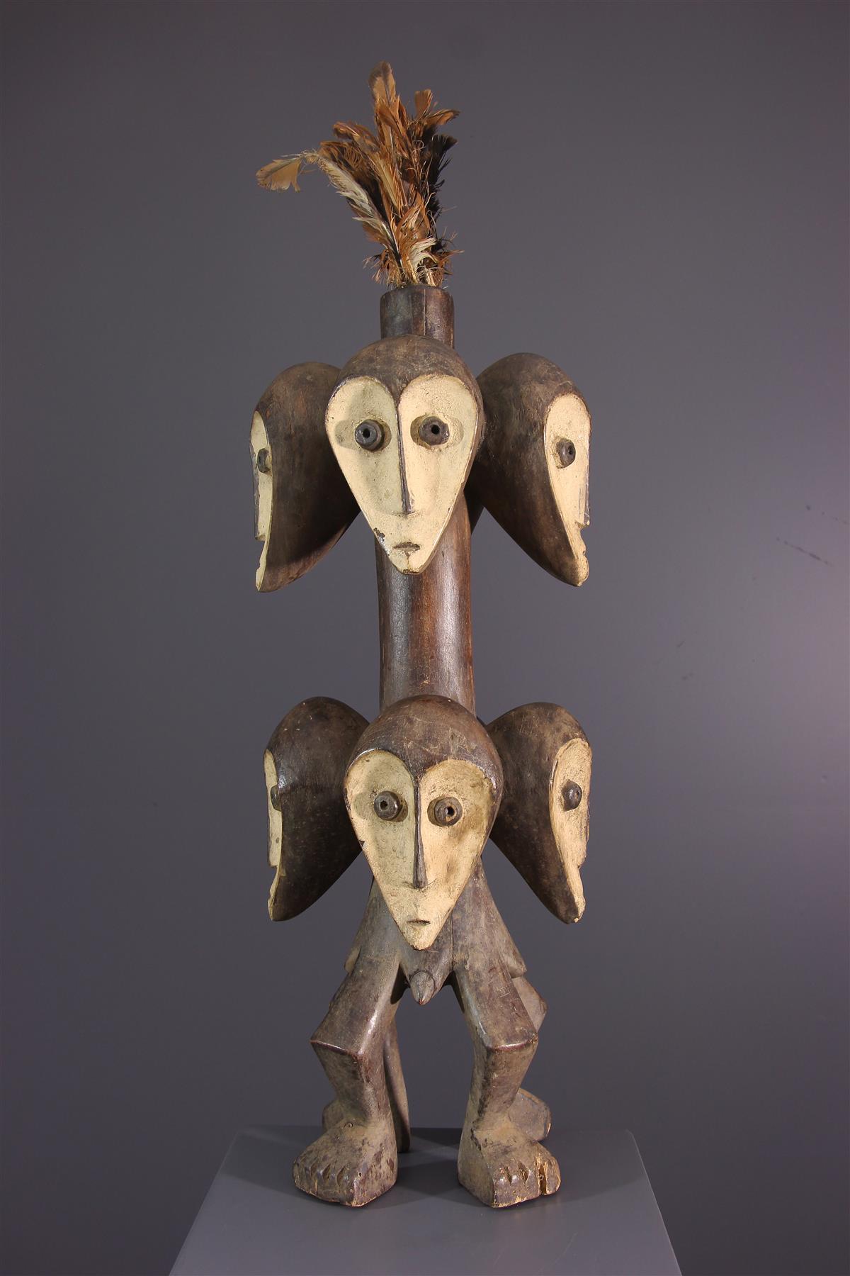 Statue Lega Sakimatwematwe - Art africain