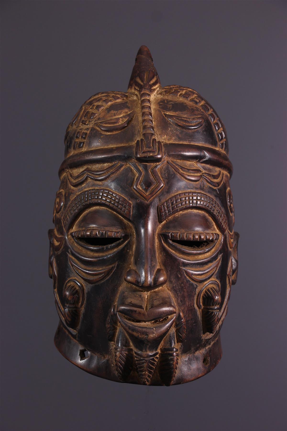 Masque Luluwa - Art africain