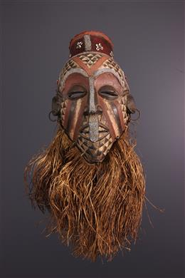 Art africain - Masque Ngady mwaash Kuba