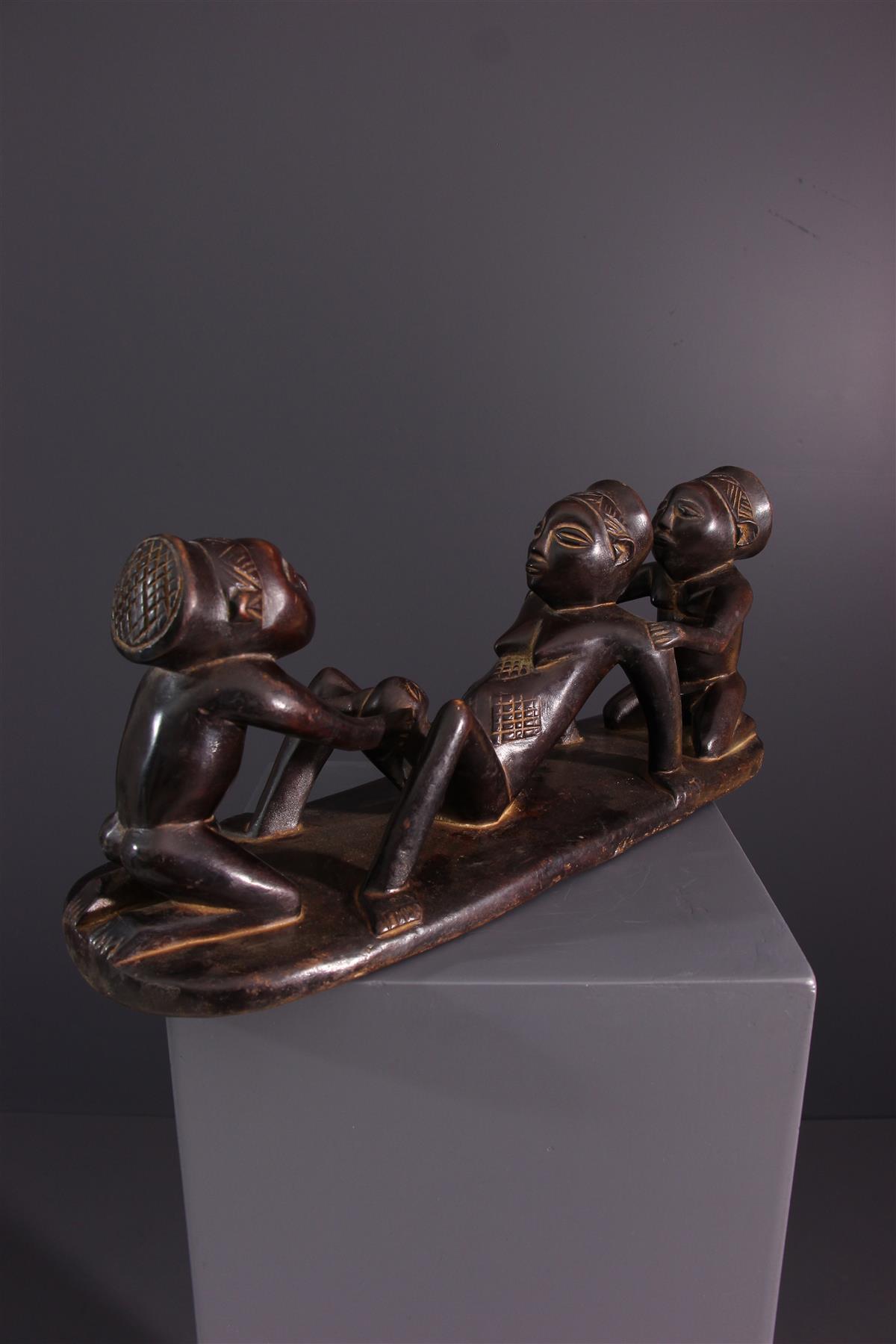 Statues Luba - Art africain