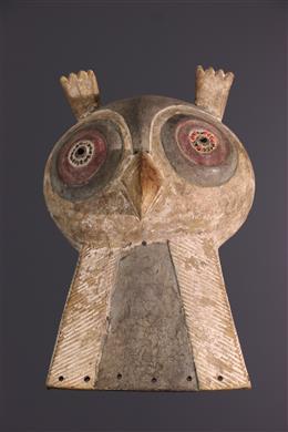 Masque animalier Luba Mukisi a kukaya