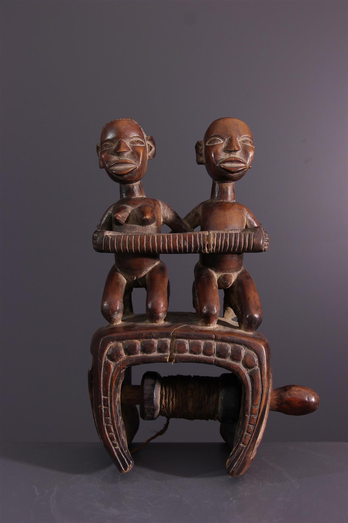 Poulie Kongo - Art africain