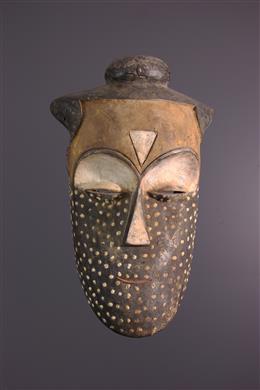 Art africain - Masque Kuba Pyaang