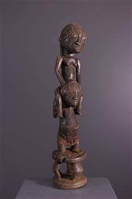 Art africain - Figure dintronisation Tabwa