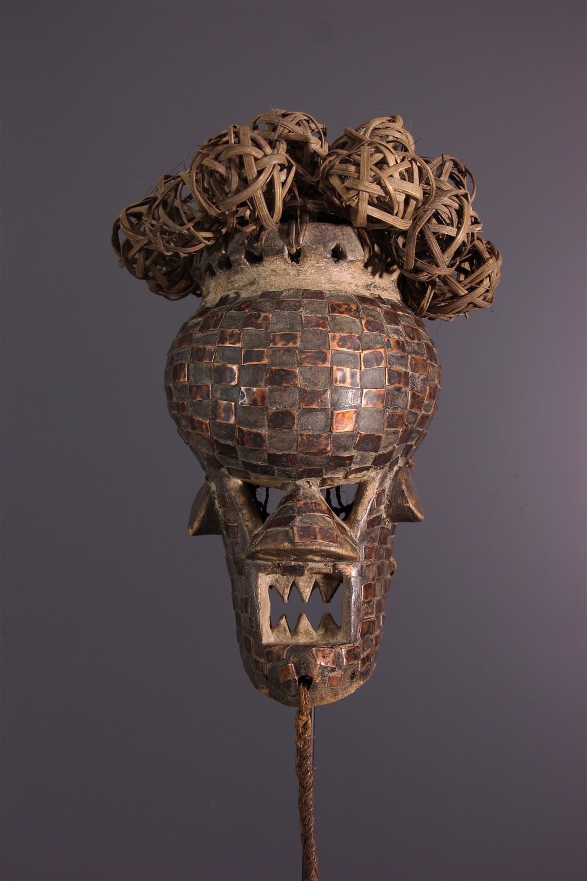 Masque Salampasu - Art africain