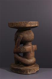 Tabourets, chaises, trônesTabouret Tschokwe