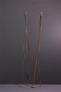 Art africain - Statues du couple primordial Dogon