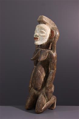 Art africain - Figure agenouillée Punu