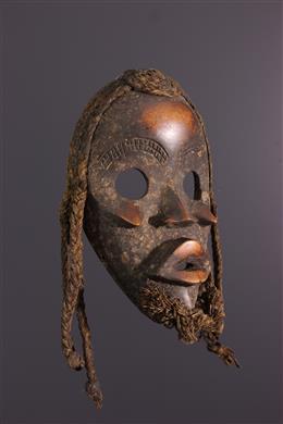 Art africain - Masque Dan Zapkei