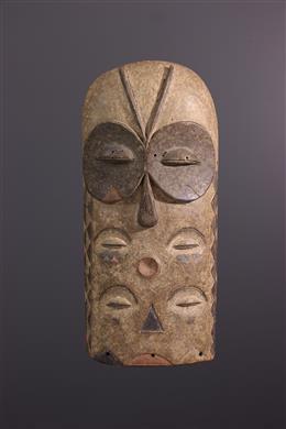 Art africain - Grand masque Bembe