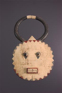 Art africain - Masque Kplé Kplé du Goli Baoulé