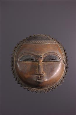 Art africain - Masque Lune Baoule