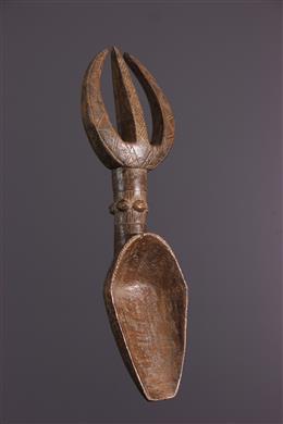 Art africain - Grande cuillère Dan Wakémia