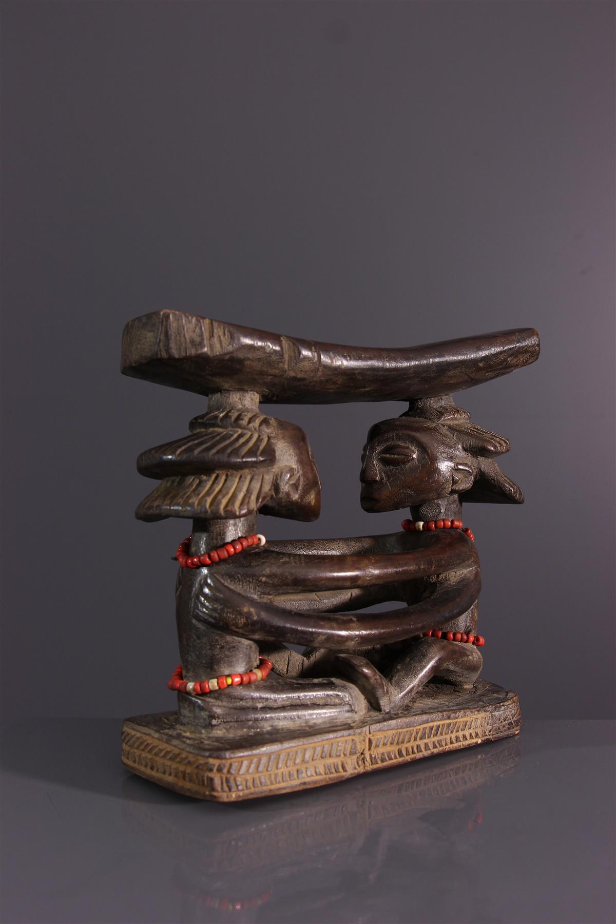 Appuie tête Luba - Art africain