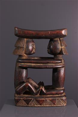 Art africain - Appui-tête Luba Shankadi