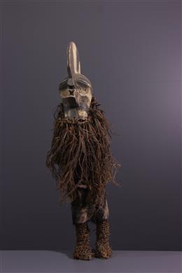 Art africain - Figure de danseur Songye Kifwebe