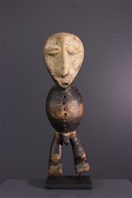 Art africain - Statuette dinitiation du Bwami Lega