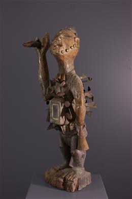 Art africain - Fétiche Kongo Nkondi Nkisi