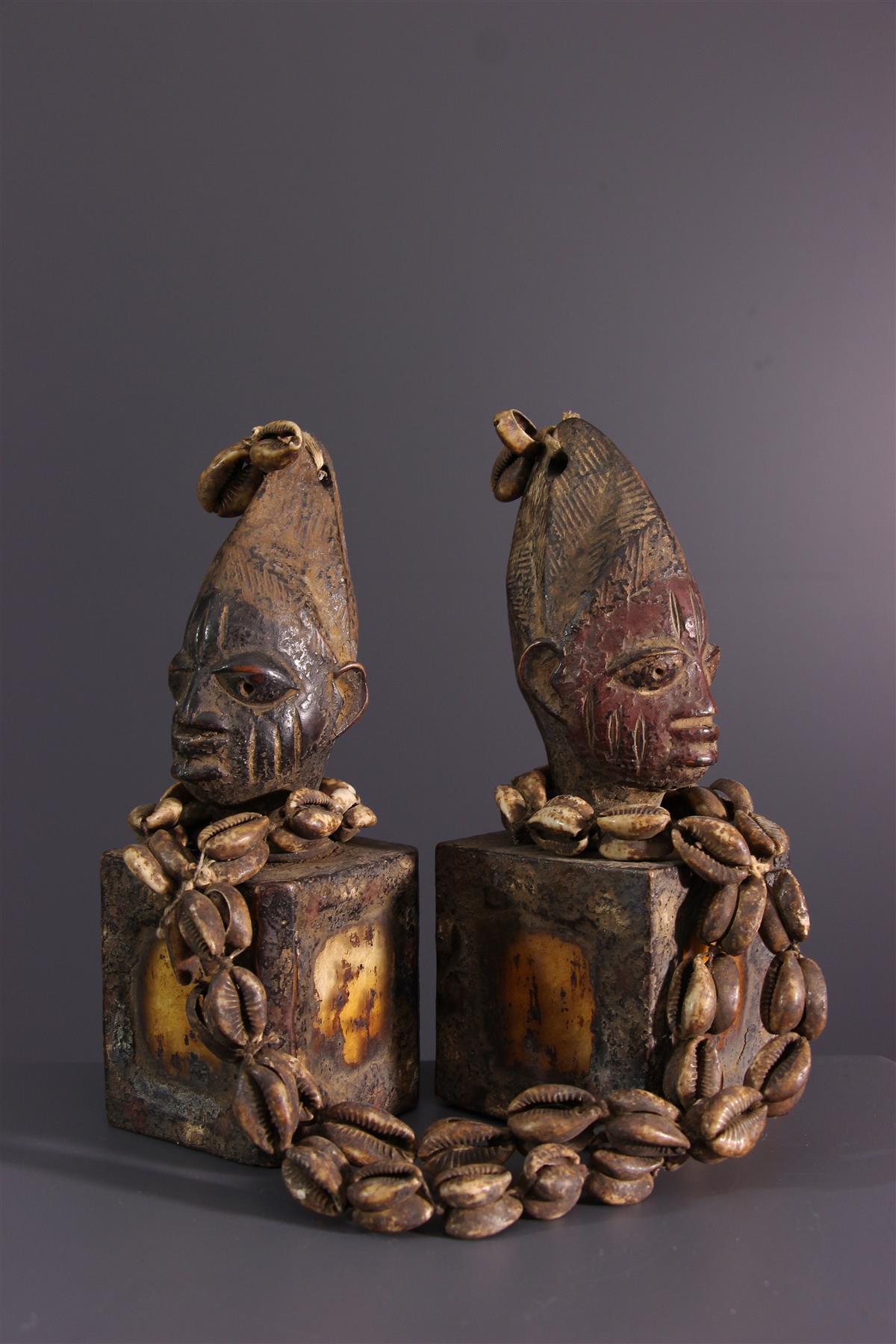Statuettes Ibeji - Art africain