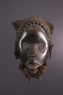 Art africain - Masque Dan Zapkei ou Gunye ge
