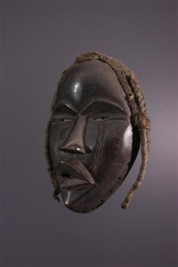 Art africain - Masque Dan Deangle