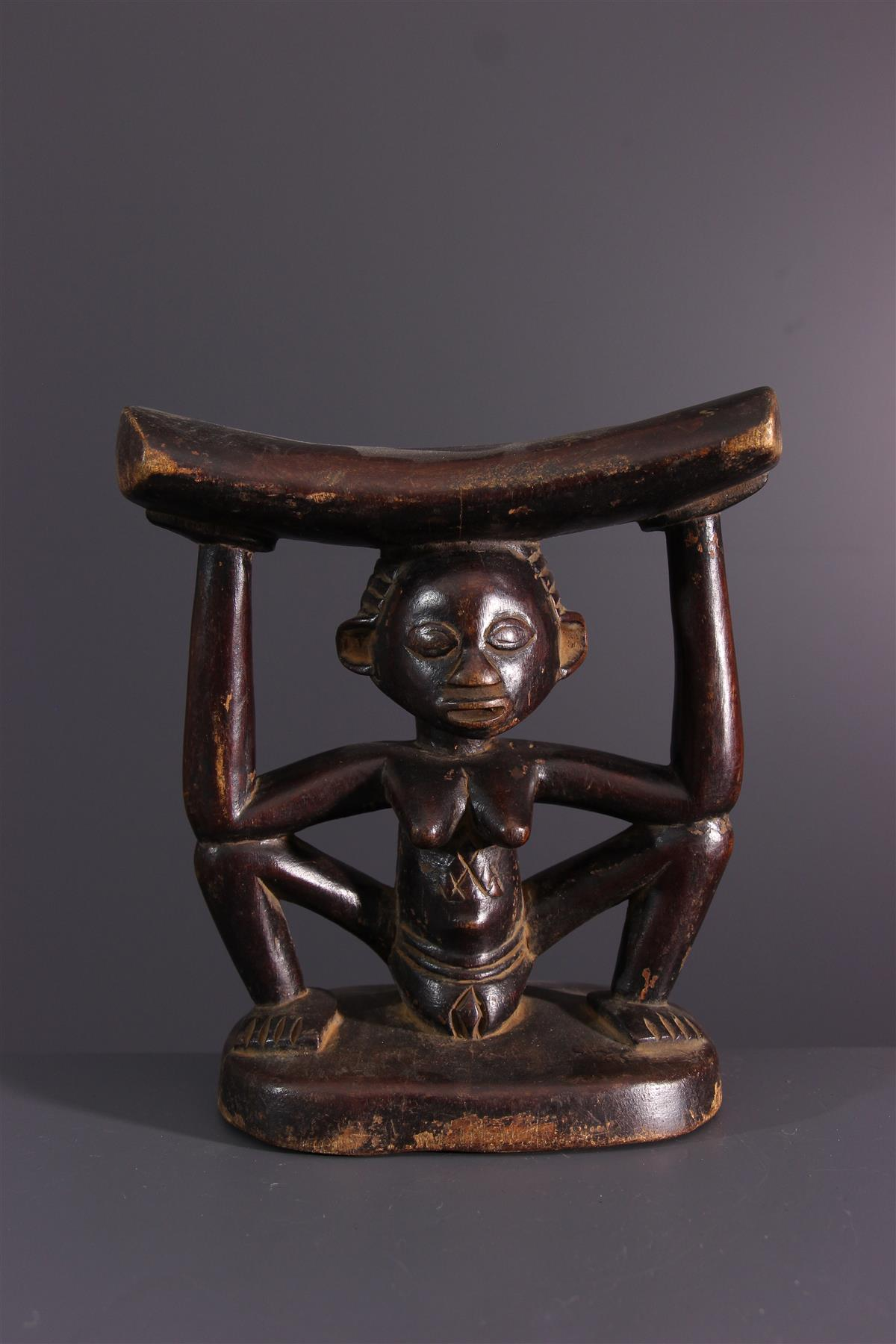 Appui-tête Luba - Art africain