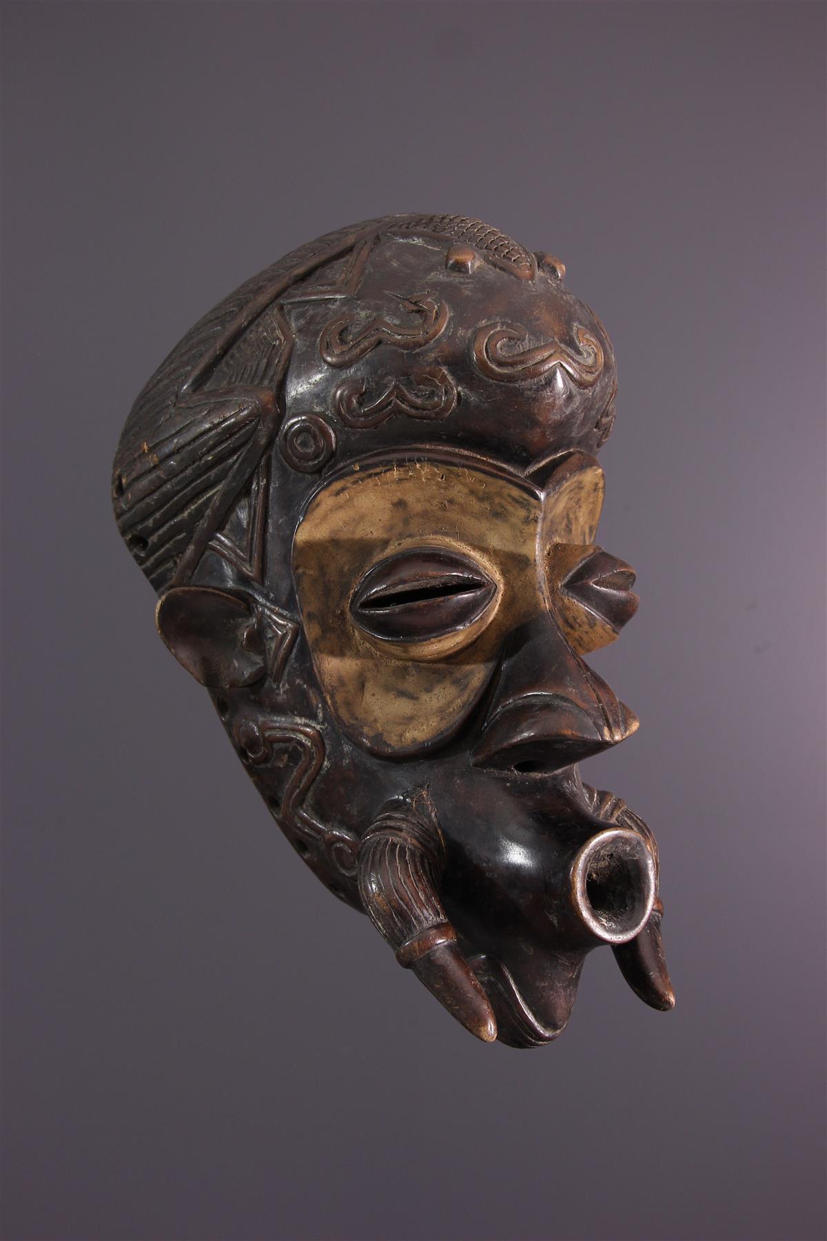 Masque Bena Lulua - Art africain