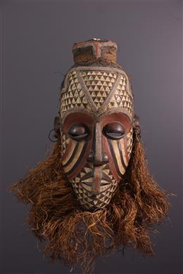 Art africain - Grand masque Ngady mwaash Kuba