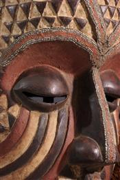 Masque africainMasque Kubait