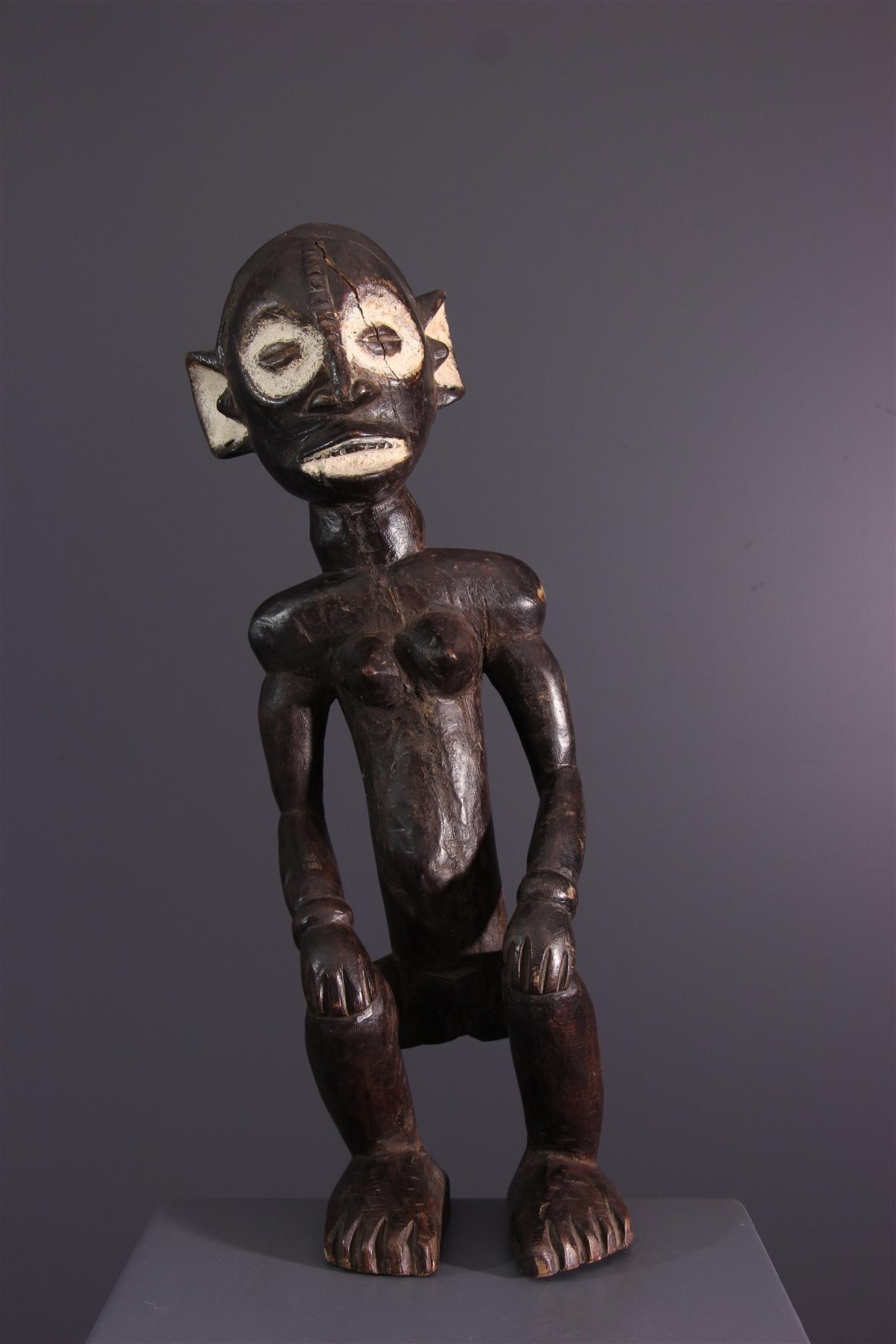 Statue Zimba - Art africain