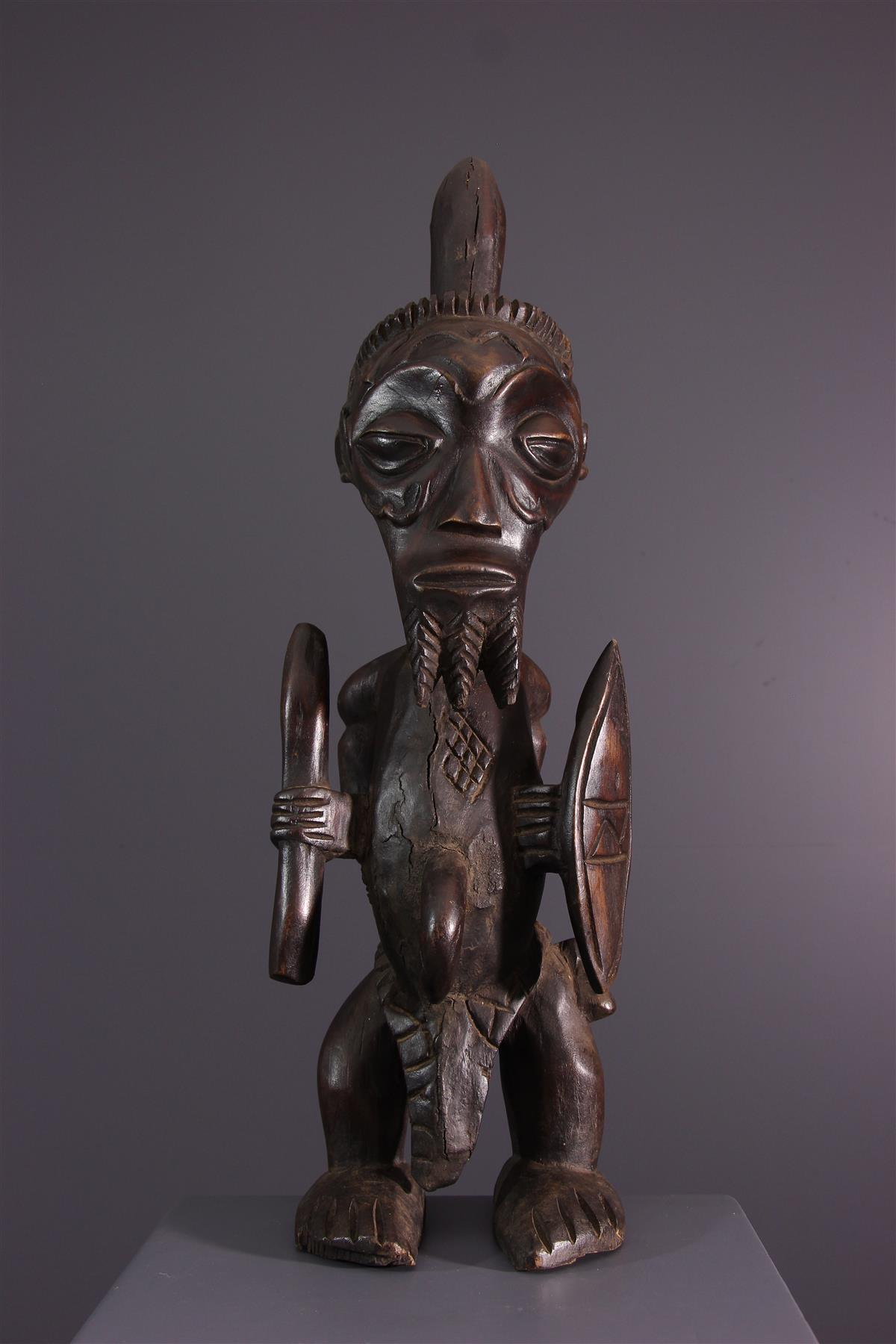 Statue Luluwa - Art africain