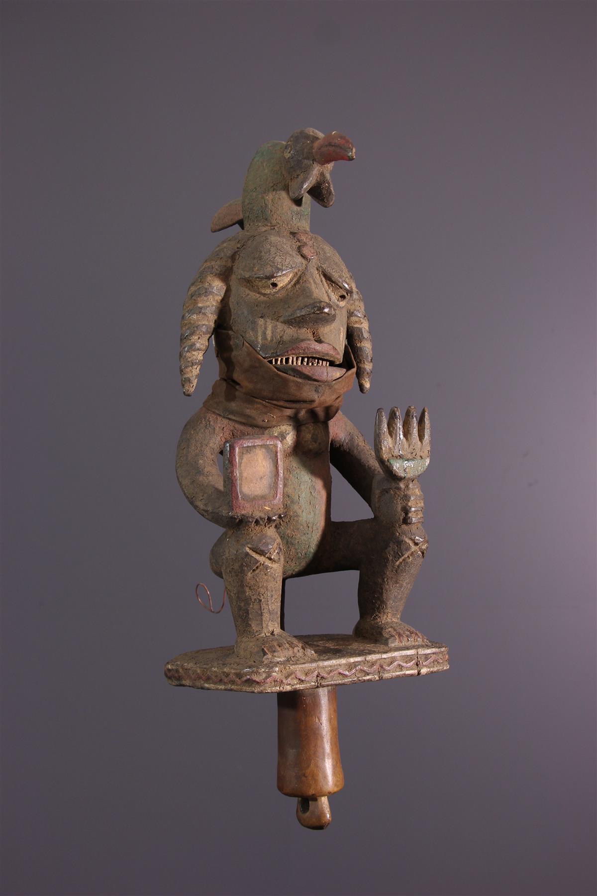 Marionnette Ibibio - Art africain