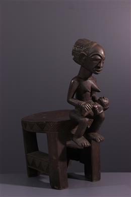Art africain - Siège Luba