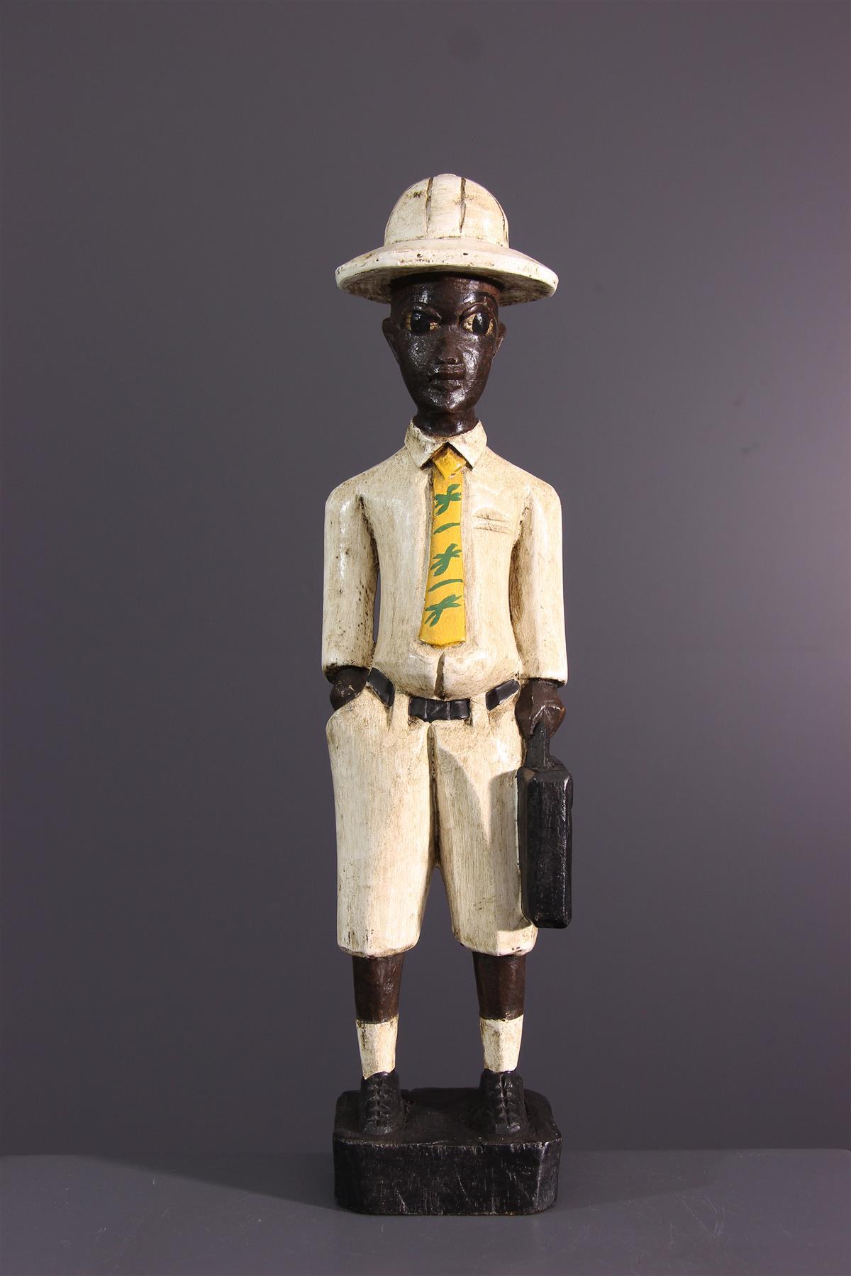 Statuette Baule - Art africain