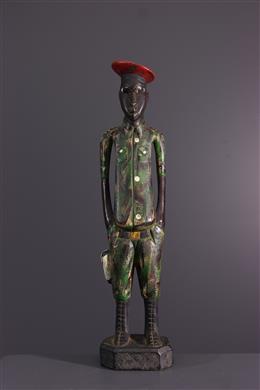 Art africain - Statuette Baule