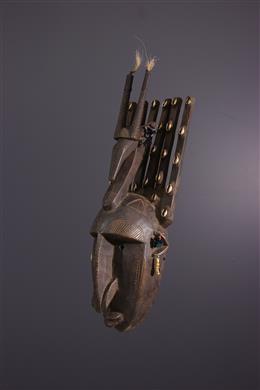 Art africain - Masque Bambara du Ntomo