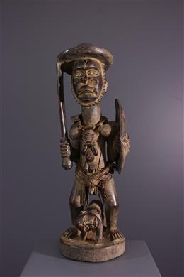 Figure de pouvoir Kongo Solongo