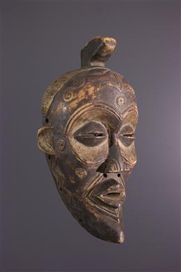 Art africain - Masque Lulua, Luluwa