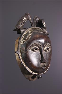 Art africain - Masque Yaure, Yahoure, Côte dIvoire