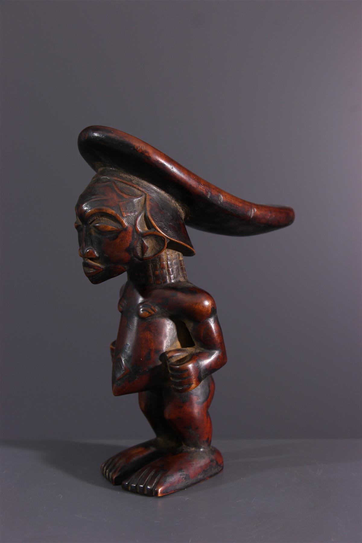 Appuie-tête Luluwa - Art africain