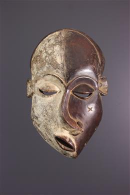 Art africain - Masque Pende Mbangu