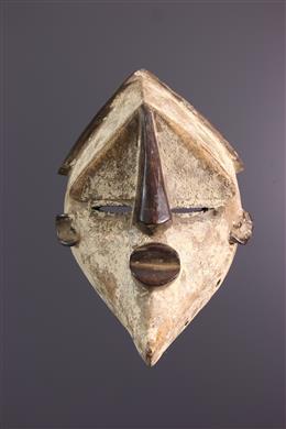 Art africain - Masque Lwalwa Mvondo