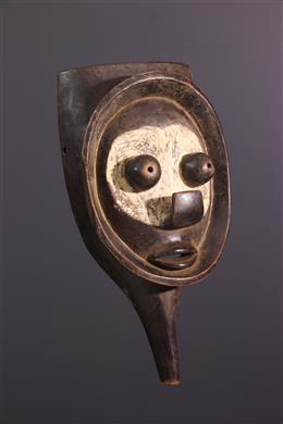 Art africain - Masque Yaka à poignée