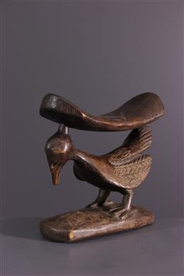 Art africain - Appui-nuque Yaka