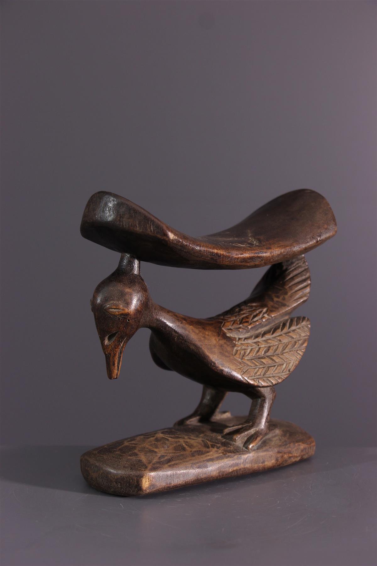 Appuie tête Yaka - Art africain