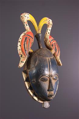 Art africain - Masque Yaure, Yohoure