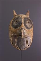 Masque africainMasquette Luba